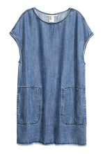 Lyocell denim dress - Denim blue - Ladies | H&M CN 2